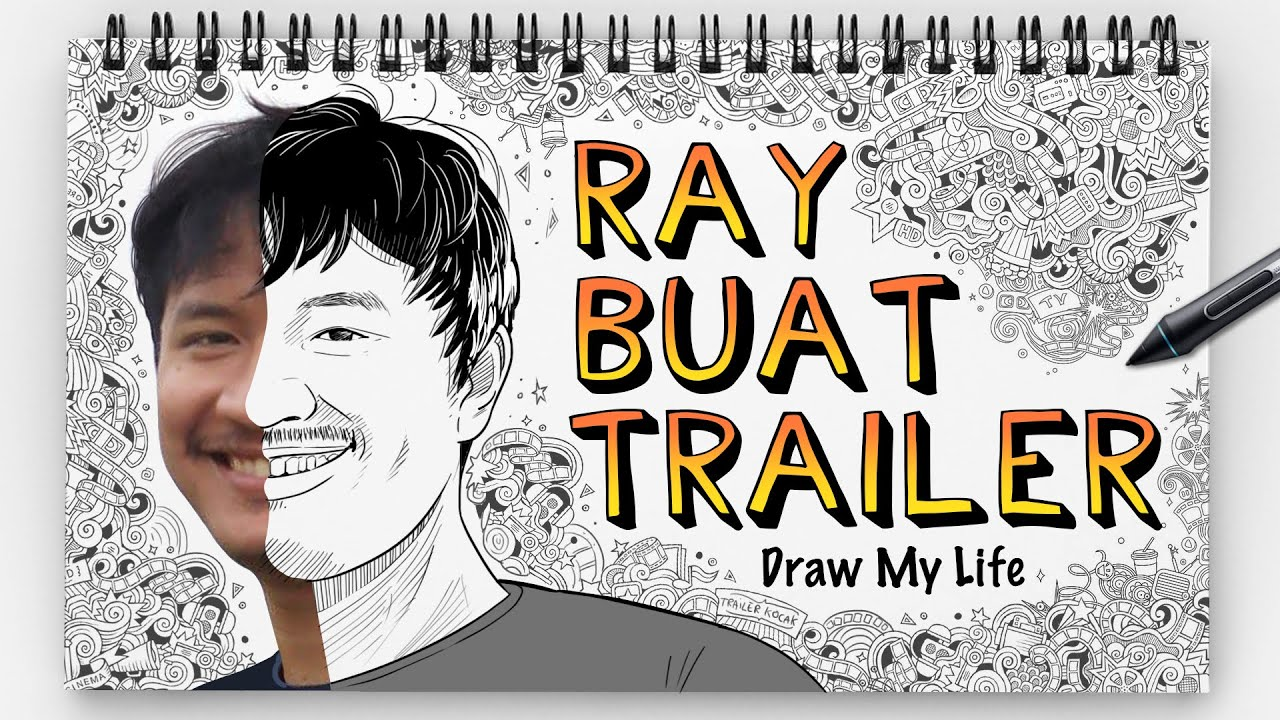 RAY BUAT TRAILER - DRAW MY LIFE INDONESIA