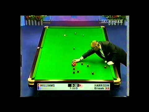 Craig Harrison vs Mark Williams at the 1999 British Open Frame 2