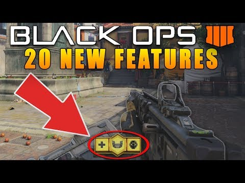 20 New Features in Call of Duty Black Ops 4 (New COD BO4)