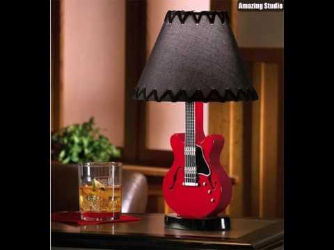 Repurpose guitar table lamps youtube repurpose guitar table lamps aloadofball Gallery