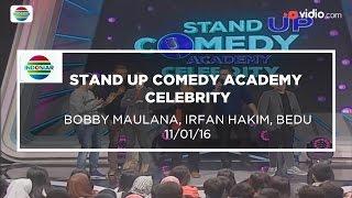 Highlight Stand Up Comedy Celebrity - Bobby Maulana, Irfan Hakim, Bedu 11/01/16