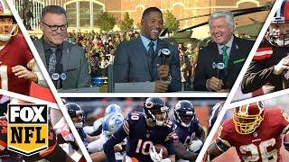 FOX NFL crew break down Week 10 Redskins, Bears & Browns | FOX NFL