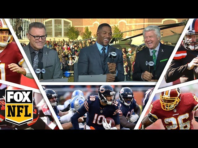 FOX NFL crew break down Week 10 Redskins, Bears & Browns | FOX NFL