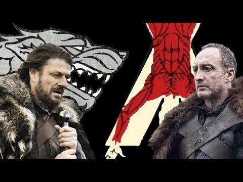 Family Rivals in Game of Thrones