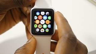Apple Watch Sport Unboxing & Initial Setup! (UI Overview)