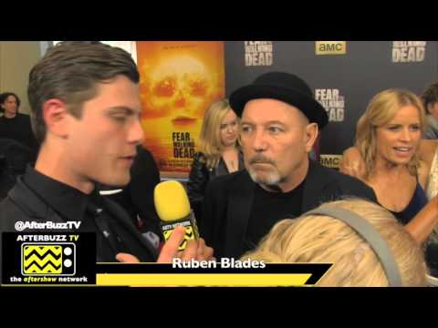 Ruben Blades Interview | Fear The Walking Dead Premiere | 2016