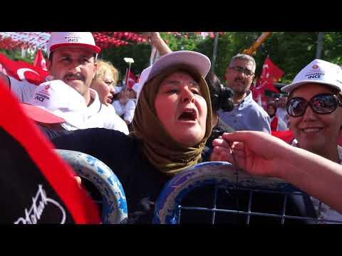 CHP'nin cumhurbaşkanı adayı Muharrem İnce'nin Gaziantep mitingi izlenimleri