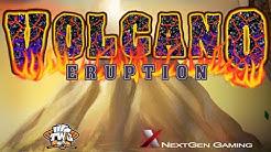 Volcano Eruption Online Slot from NextGen