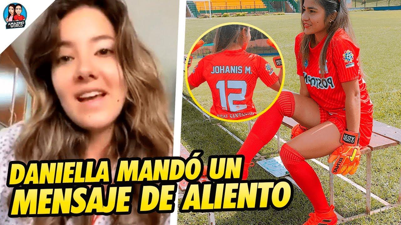 """""""Aférrate a la VIDA"""": Daniella Álvarez ENVÍA MENSAJE a Johanis Menco tras pasar SU MISMA SITUACIÓN"""