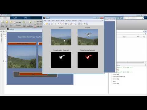 Image Forgery Detection SIFT SURF Matlab Code Projects - YouTube
