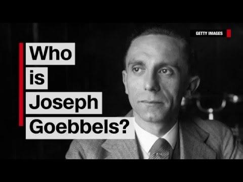 Who is Joseph Goebbels?