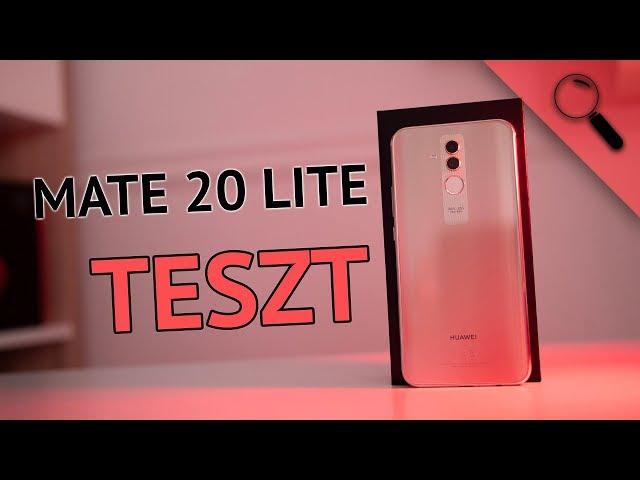 A hiánypótló! | Huawei Mate 20 Lite teszt