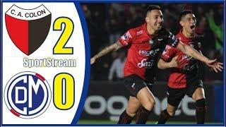 🤩RESUMEN GOLES DEBATE⚽️Colón de Santa Fe vs Deportivo Municipal⚽️ Copa Sudamericana 2019