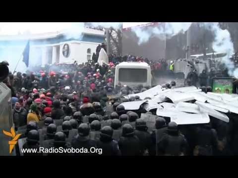 Ukrajina: Sukobi demonstranata i policije
