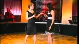 Lauren Graham and Kate Jennings Grant singing 'Marry The Man Today'