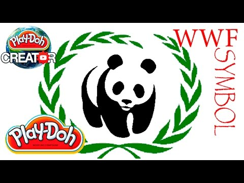Playdoh WWF symbol Panda Play-doh World Wide Fund for Nature