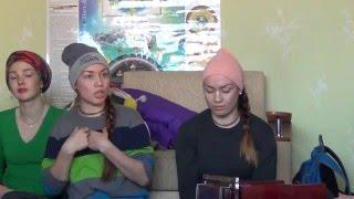 Сестры Валерия и Наталья Андреевы - Урок санкиртаны (1 день). Пермь 15.02.2016.