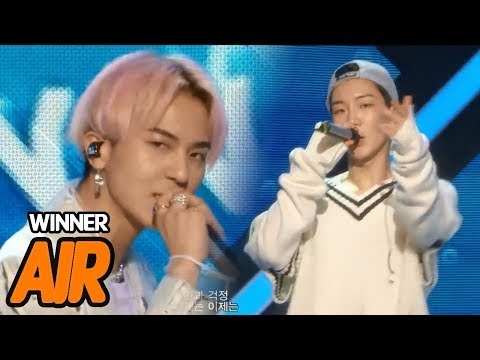 [Comeback Stage] WINNER - AIR, 위너 - 에어 Show Music core 20180414