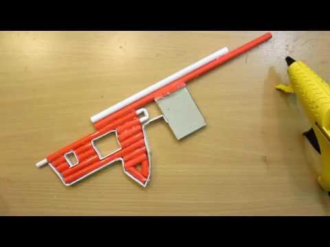 How to Make a Paper Sniper Rifle   Shoots 5 Bullets   Easy Paper Gun Tutorials