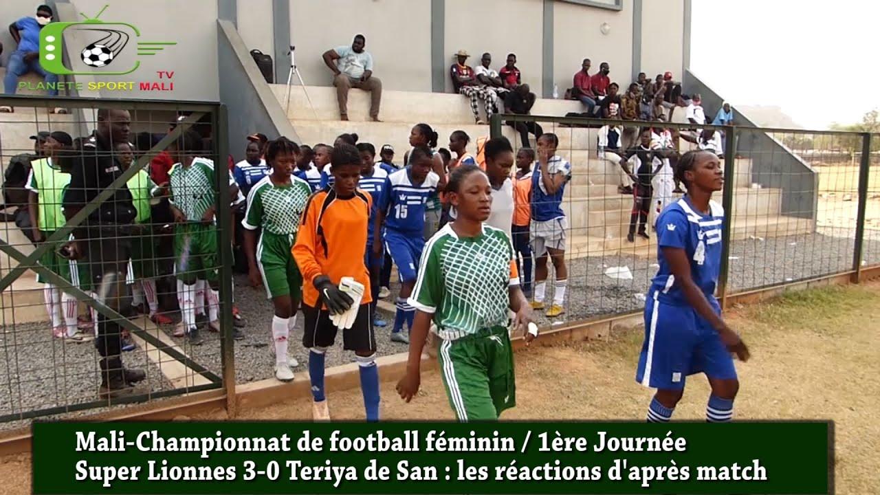 Foot-Mali : le championnat féminin lancé : réactions