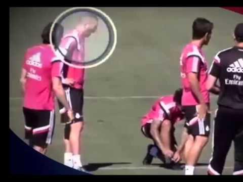 رونالدو يهاجم غاريث بيل في تداريب ريال مدريد برد فعل غاضب