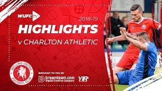 Highlights: Welling United FC 1-2 Charlton Athletic FC 14.7.18