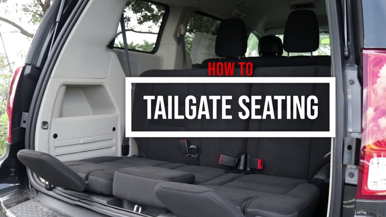 Dodge Caravan Seating >> Tailgate Seating How To Dodge Grand Caravan Cape Coral Fl