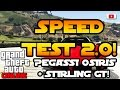 Grand Theft Auto 5 Online - SpeedTest 2.0 Pegassi Osiris + Stirling GT! (ill Gotten Gains Part 1)