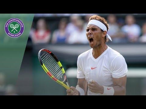 Rafael Nadal Vs Juan Martin Del Potro | Wimbledon 2018 | Final Set Condensed Highlights
