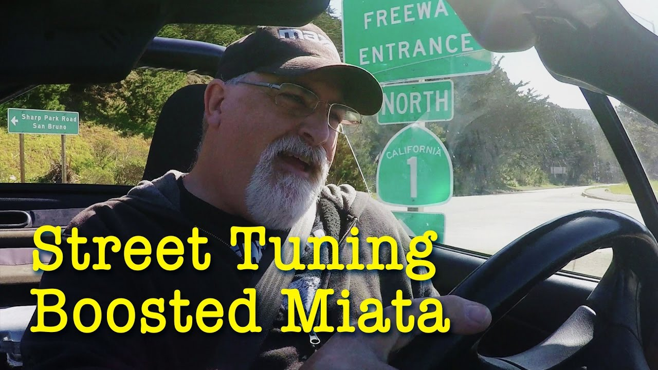 Street Tuning the Boosted Miata | AFR and BOOST