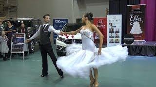 Pokaz tańca na 1. Środkowopomorskich Targach Ślubnych Koszalin 2018