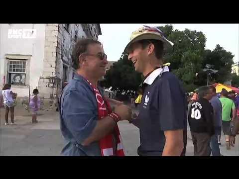 Football / Le match entre supporters suisses et français a déjà commencé - 20/06