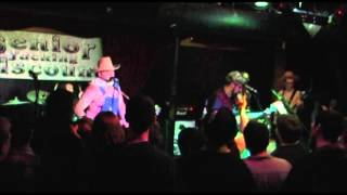"""Senior Discount performs """"Paper Planes"""" by MIA and """"Ataxia (Bluegrass)"""" at Club Hell"""