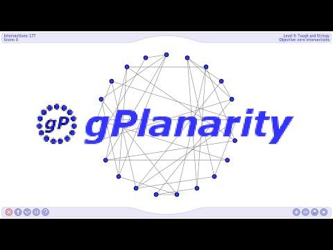 gPlanarity, super-clone of Planarity