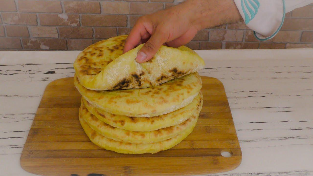 Mısır unu ile tavada ekmek ve bazlama tarifi