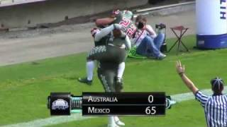 Professional American Football Mexico Australia Highlights. www.omfapro.com.mx