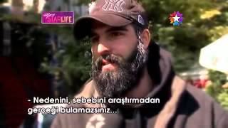 MEHMET AKİF ALAKURT STAR LİFE KAMERALINA YAKALANDI