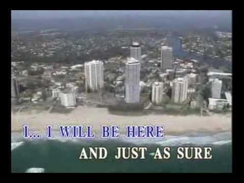 Steven Curtis Chapman - I Will Be Here (Karaoke / Instrumental) (Videoke)