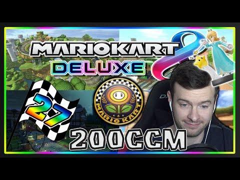 Generate MARIO KART 8 DELUXE Part 27: Blumen-Cup 200ccm Deluxe mit Facecam Screenshots