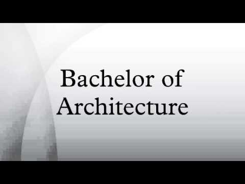 Exceptionnel Bachelor Of Architecture   YouTube