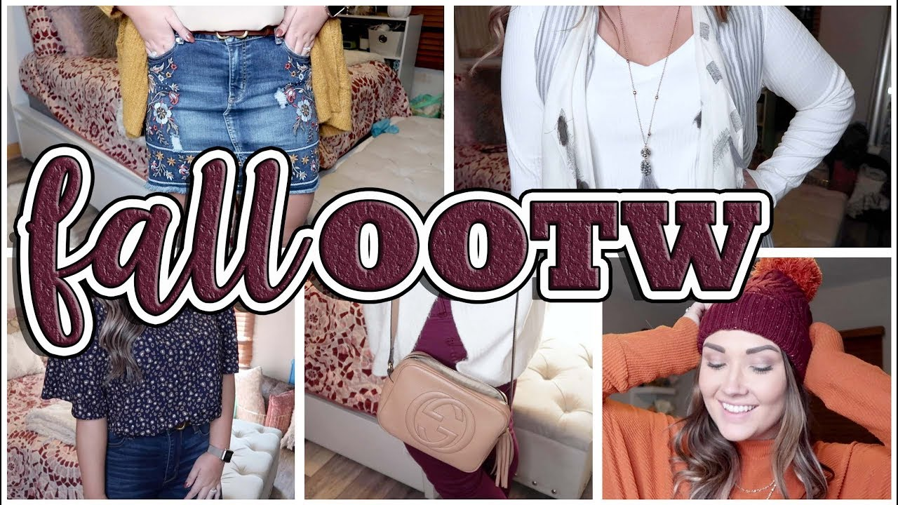 FALL OOTW | Everyday Outfit Ideas | NOVEMBER 8