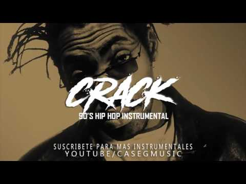 RAP BEAT - CRACK - UNDERGROUND HIP HOP INSTRUMENTAL - 90´S