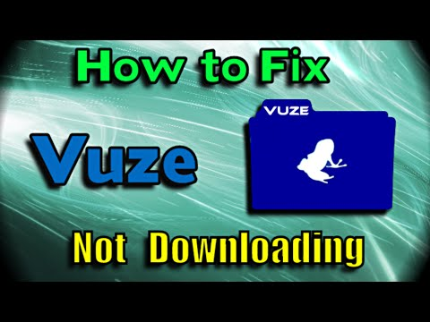 How to fix Vuze torrent not downloading (Using Anonymous Free Proxy)