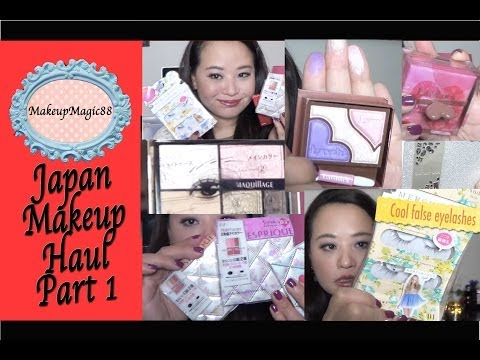 Japanese Beauty Haul - Japanese Eyeshadows (Visee, Esprique, Maquillage, Shiseido and more ♥)