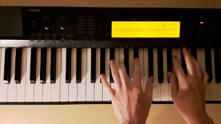ab9 piano chords how to play