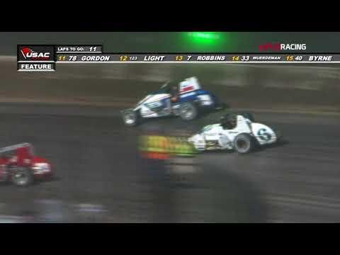 """USAC Silver Crown Series Highlights """"4 Crown Nationals"""" Eldora Speedway"""
