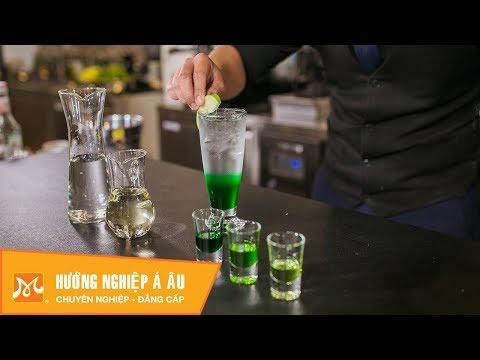 Cách pha chế Soda Apple Baby hấp dẫn - Học pha chế
