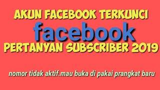 Akun Facebook TERKUNCI. BEGINI CARANYA