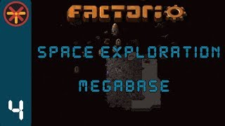 Factorio Space Exploration Grid Megabase EP4 - Steel Production & Research! : Gameplay, Lets Play