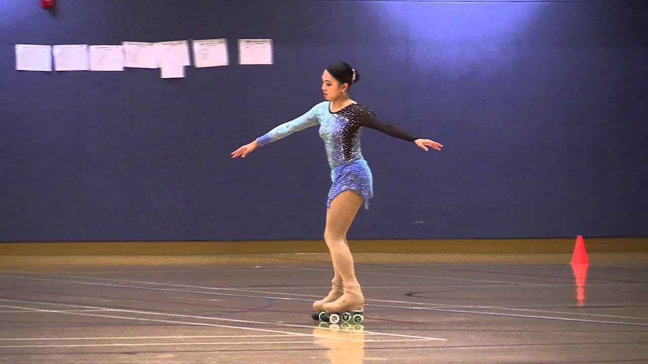 20151018 香港花式滾軸溜冰公開賽 第四組女子長節目 Part 2/2 - YouTube